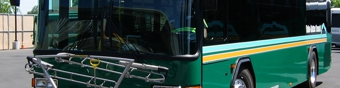 <p>One of 22 local fixed route buses that are used to operate Yuba-Sutter Transit's network of six local fixed routes.</p> (Year: 2014)